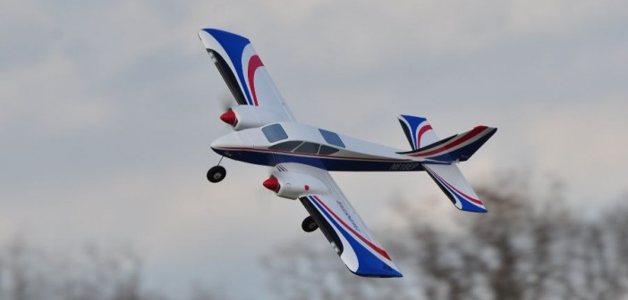 Great Planes Twinstar Electric Twin Trainer