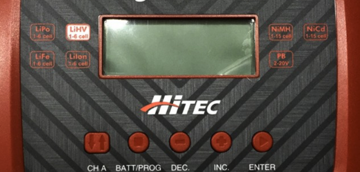 The charger multitasks – HITEC X2 AC Pro