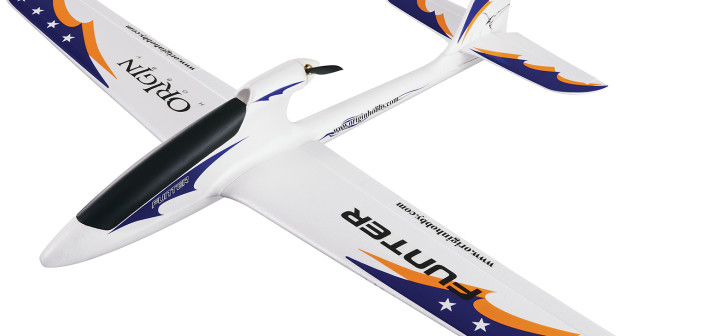 Origin Hobby Funter BL EP RxR – Super Stable and Easy-to-fly