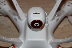 syma camera in place