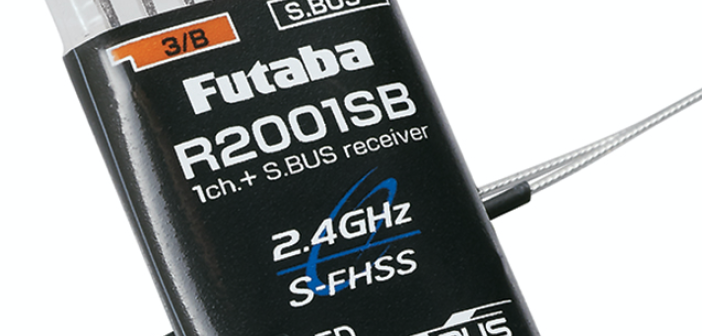 Futaba's smallest, lightest full-range receiver ever!