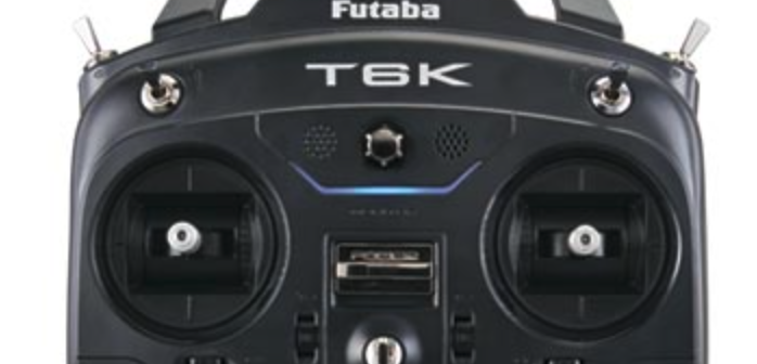 Futaba 6K Version 2 firmware offers 8 channels