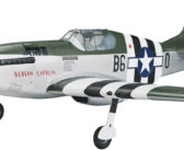 Tower Hobbies P-51 Mustang MKII EP Rx-Rs