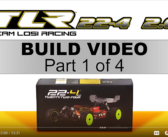 PART 1:  TLR 22-4 2.0 Build Video