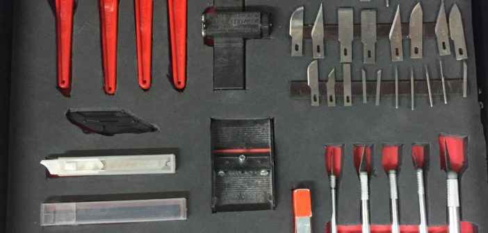 Making Tool Shadow boards on a Budget – Your Tool Box Has Never Been So Organized!