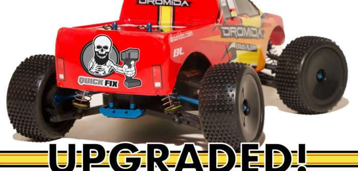 It's time to level up the Dromida Brushless Monster Truck with some upgrades
