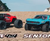 First ever 1/10 4WD vehicles from ARRMA – the Senton and Granite MEGA 4x4s!