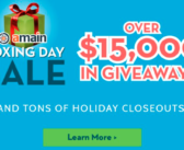 AMAIN Holiday Closeouts and Over $15,000 in Giveaways!
