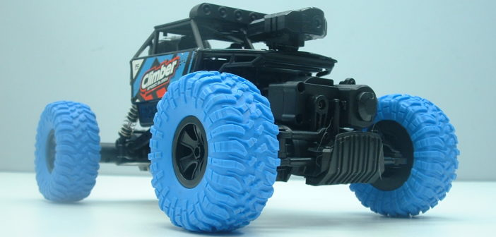 Geekbuying.com JJRC Q45 1:18 Mini Climber RTR Vehicle