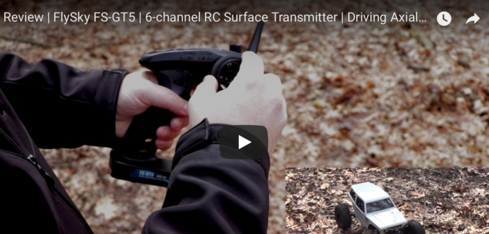 FlySky FS-GT5 6-channel Transmitter Review and Demonstration