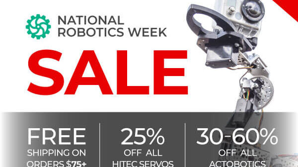 Servo City National Robotics Week SALE!