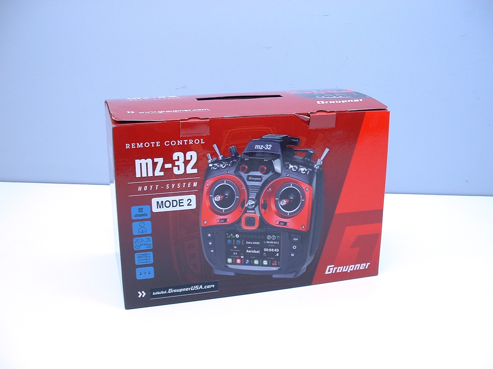 Graupner mz-32 2 4gHz Radio System with Telemetry