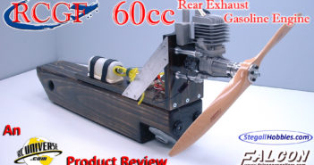 RCGF 60cc Rear Exhaust Gasoline Engine – An RCUniverse.com Product Review