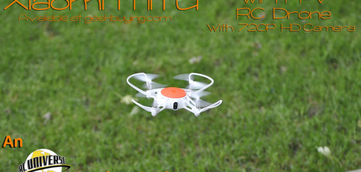 Geekbuying.com – Xiaomi MITU WiFi FPV RC Drone with 720P HD Camera