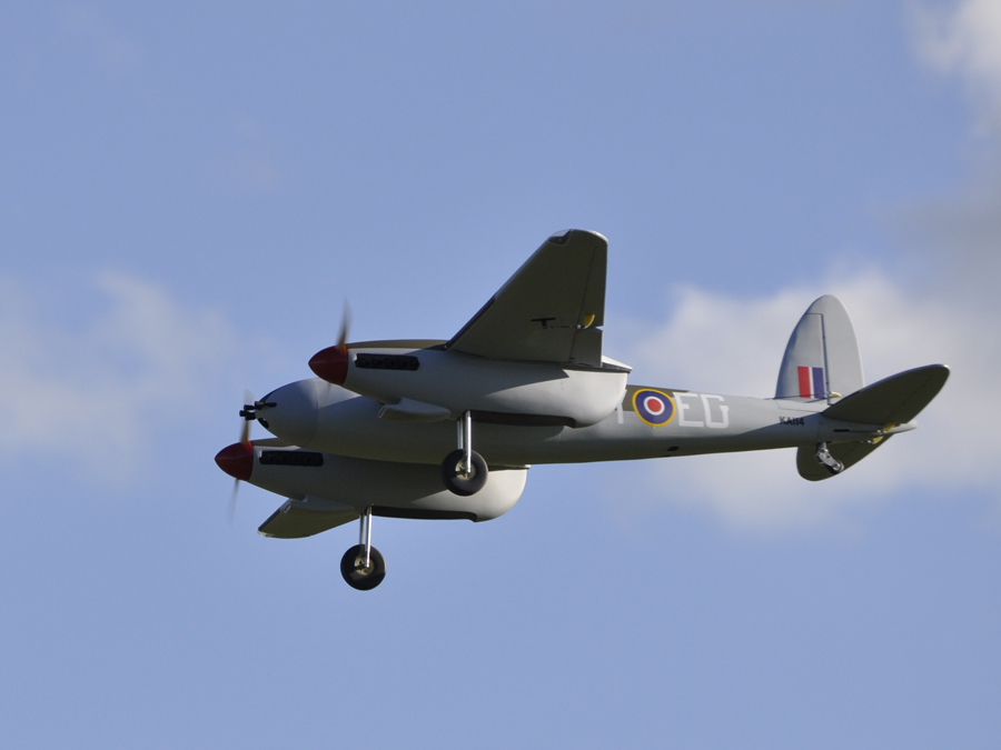 Seagull Models DeHavilland Mosquito ARF – Part Two – the Flight Review