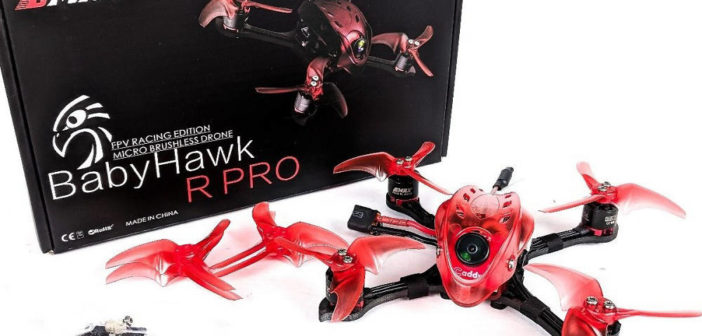 New Release! Emax Babyhawk Race Pro 120mm FPV Racing Drone Bind n Fly