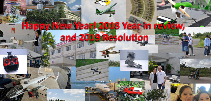 Happy New Year! 2018 Year in review, and 2019 Resolution.