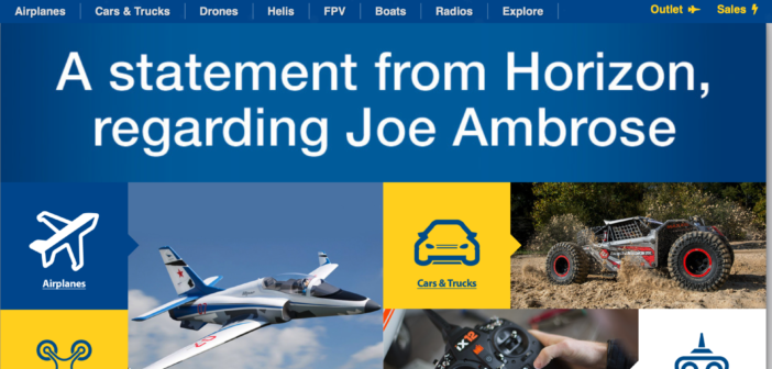 Horizon Hobby Announces Passing of Chief Executive Officer Joseph Ambrose