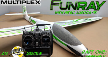 Multiplex FunRay – Receiver Ready Powered Soaring Glider