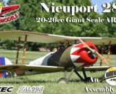Seagull Models Nieuport 28: Giant Scale 20-26cc ARF – Part One