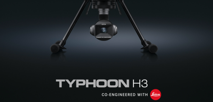Typhoon H3 co-engineered with Leica
