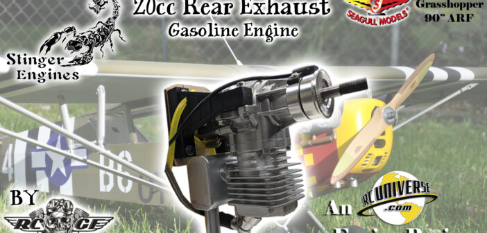 Stinger Engines by RCGF – 20cc Rear Exhaust Gasoline Engine Review