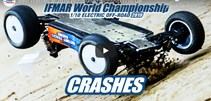 Best crashes at 2019 World Championships