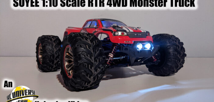 Soyee 1:10 Scale 4WD RTR Monster Truck Unboxing Video!!!