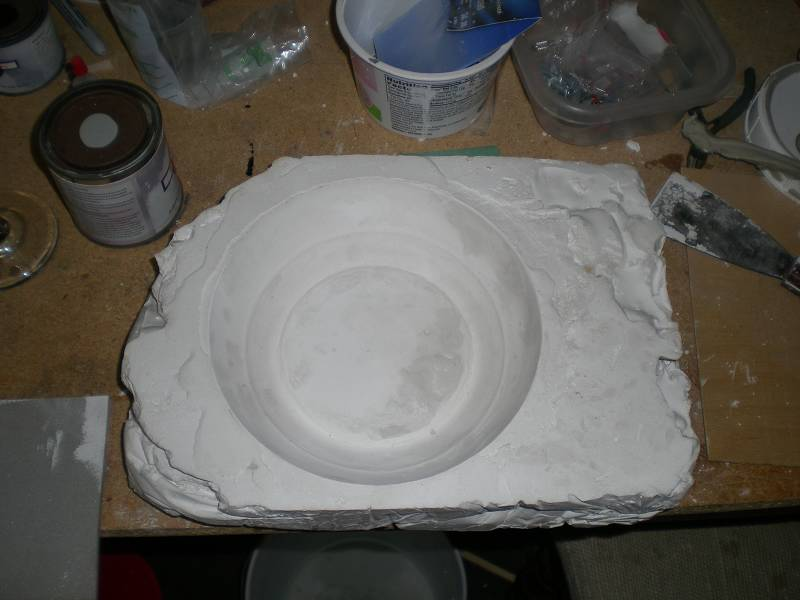 best way to seal plaster mold - RCU Forums