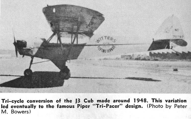 Conversion of CG Piper Cub to Tri Gear??? - RCU Forums