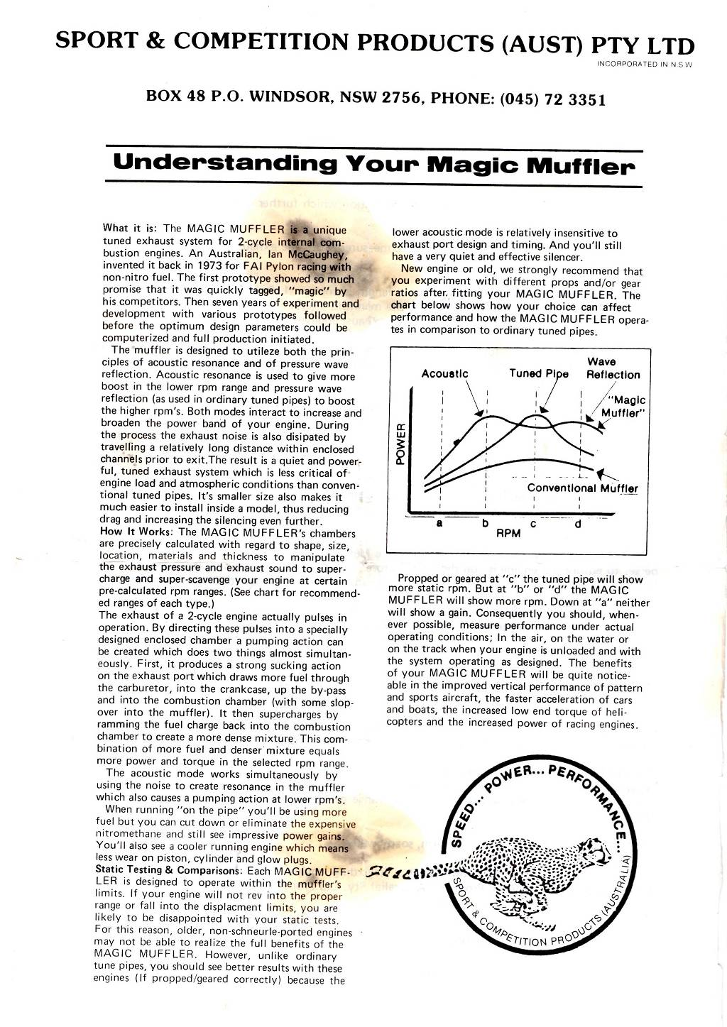 Instructions For 60 Sized Magic Mufflers Rcu Forums