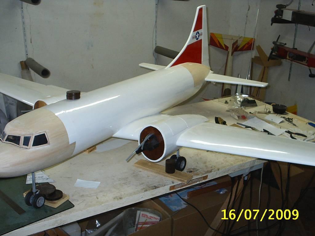 "CONVAIR 240 SAMARITAN scratch build R//c Plane Plans 82/"" Wing span"