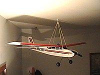 Ceiling Hanging Storage Plane Fully