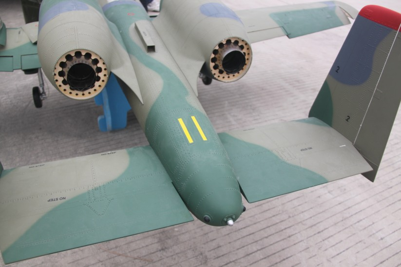 Skymaster/ XTreme new A-10 1/7 75 scale - RCU Forums