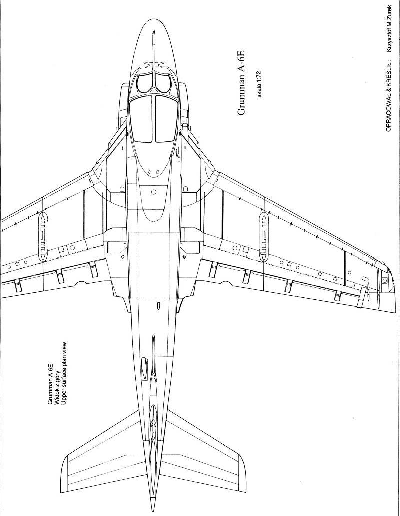 free A-6 intruder plans