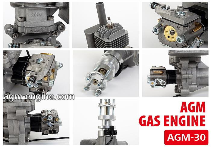 New AGM 30cc gas engine for sale and lease! - RCU Forums