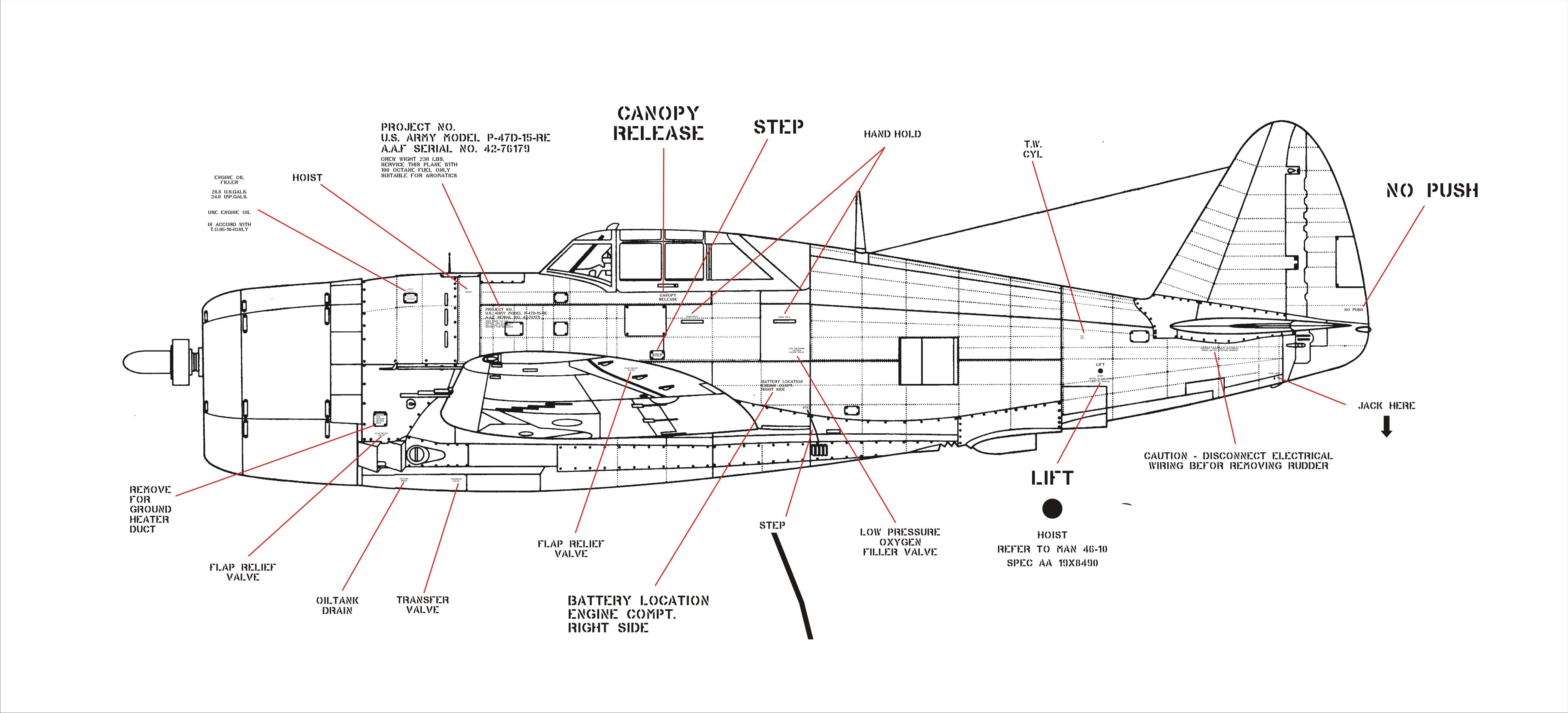 P47 Razorback Scale Drawings Rcu Forums