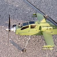 Cox Apache CL Helicopter