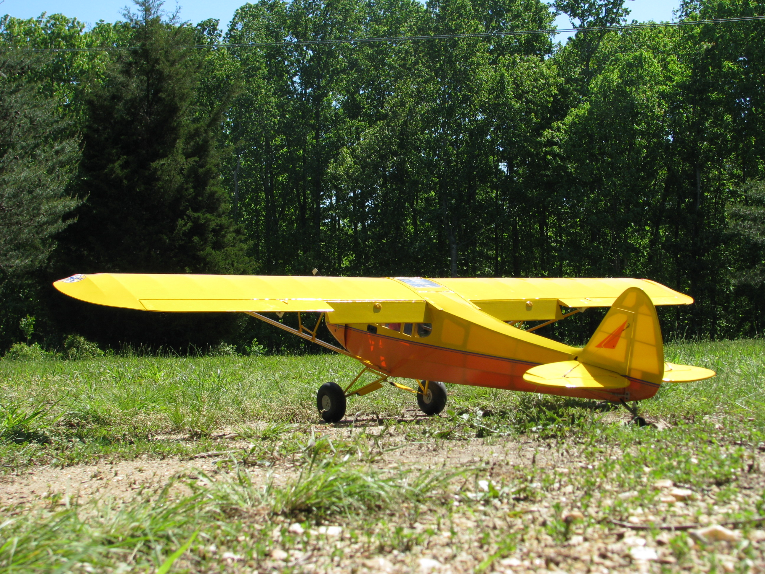 hangar 9 1 4 scale piper cub arf page 59 rcu forums