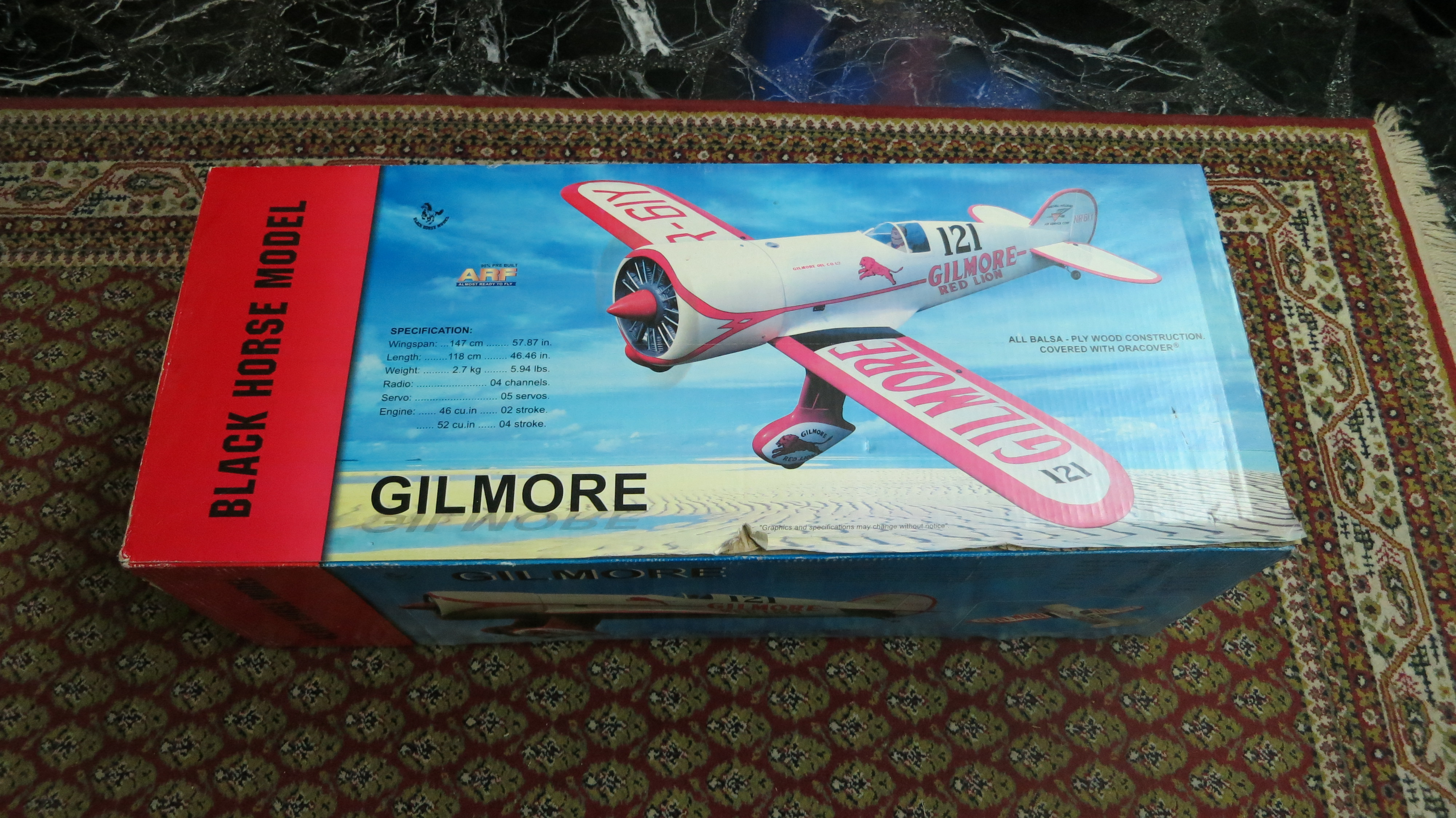 Black Horse Gilmore Red Lion 46 ARF assembly thread-REVIEW - RCU Forums