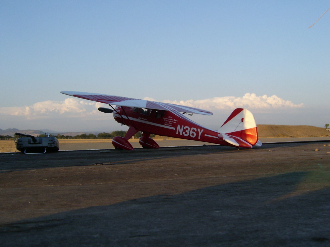 Click image for larger version  Name:Durafly Monocoupe at the field 002.jpg Views:70 Size:457.2 KB ID:1948579