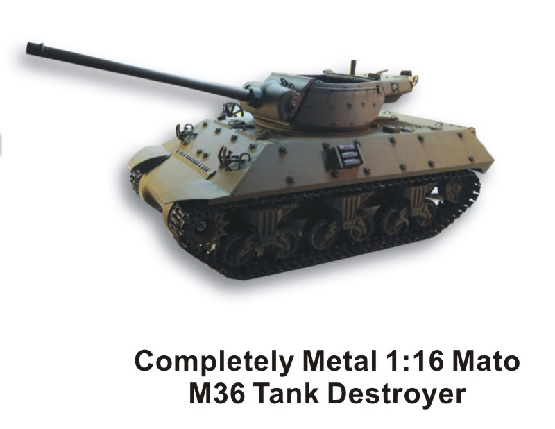 Mato New Releases All metal Sherman & Tank Destroyers! Attachment