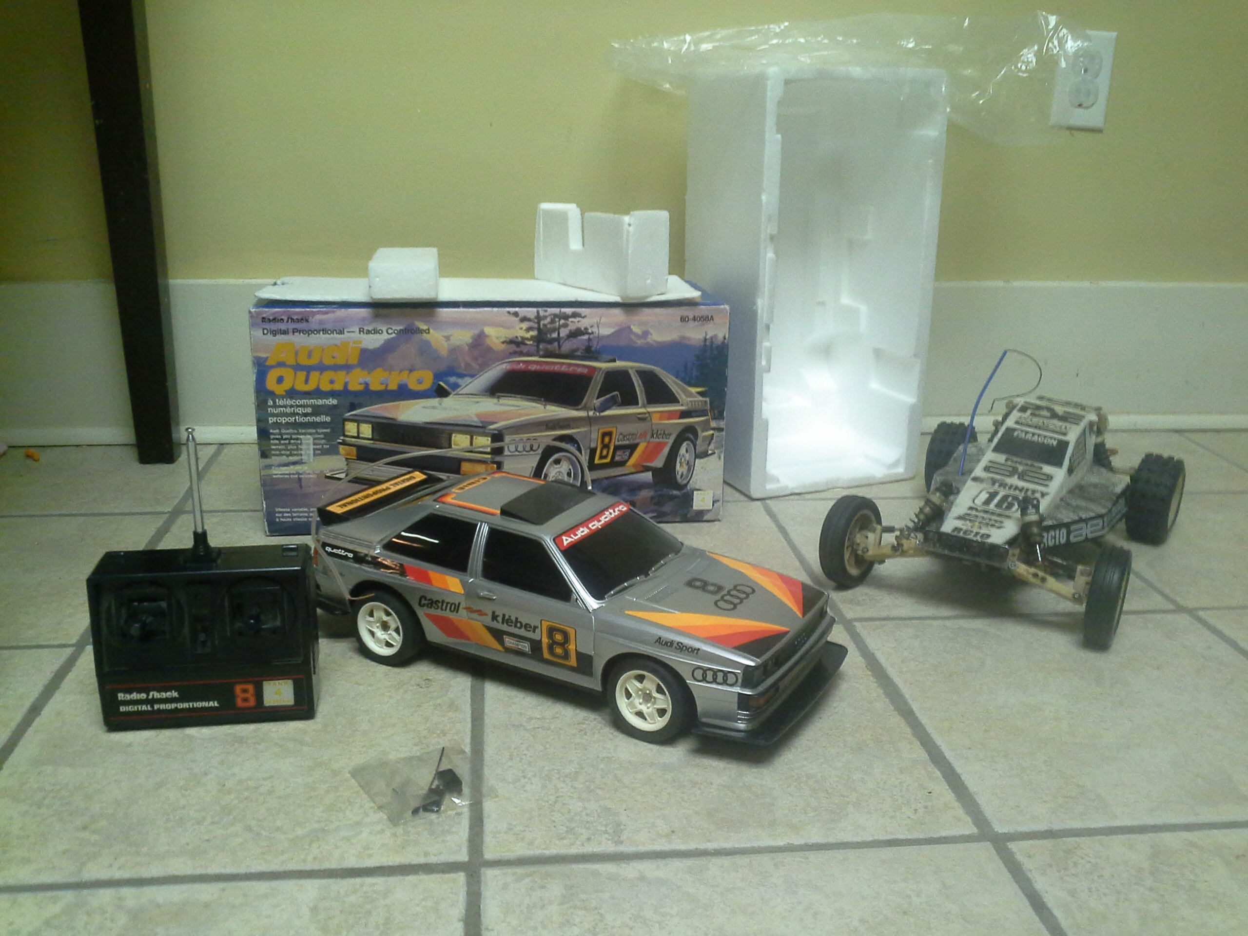 In box 1985 Radio Shack Audi Quattro - RCU Forums
