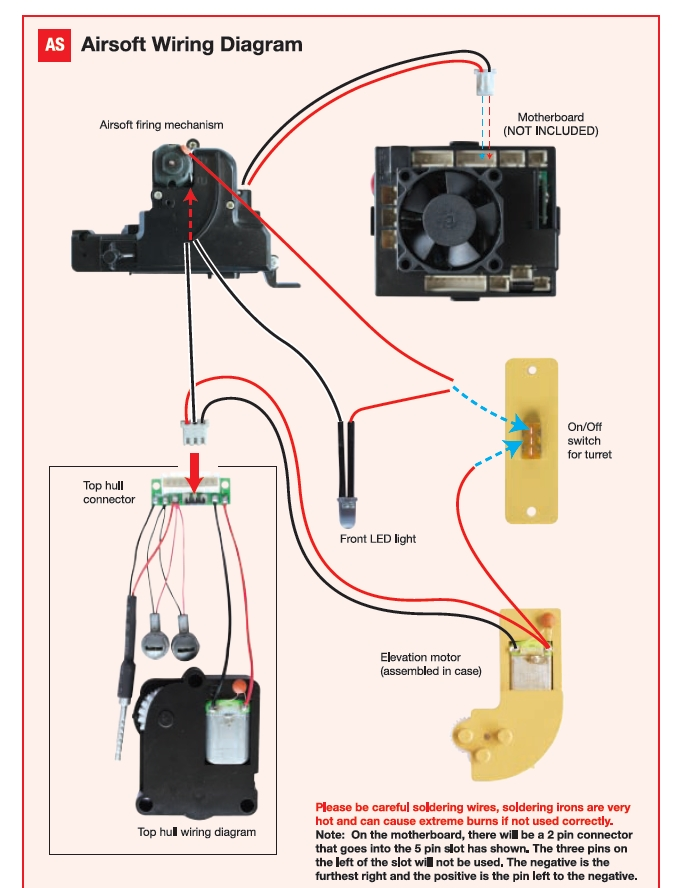 hl tiger 1 wiring problem need help rcu forums click image for larger version wiring diagram for airsoft v3 jpg views