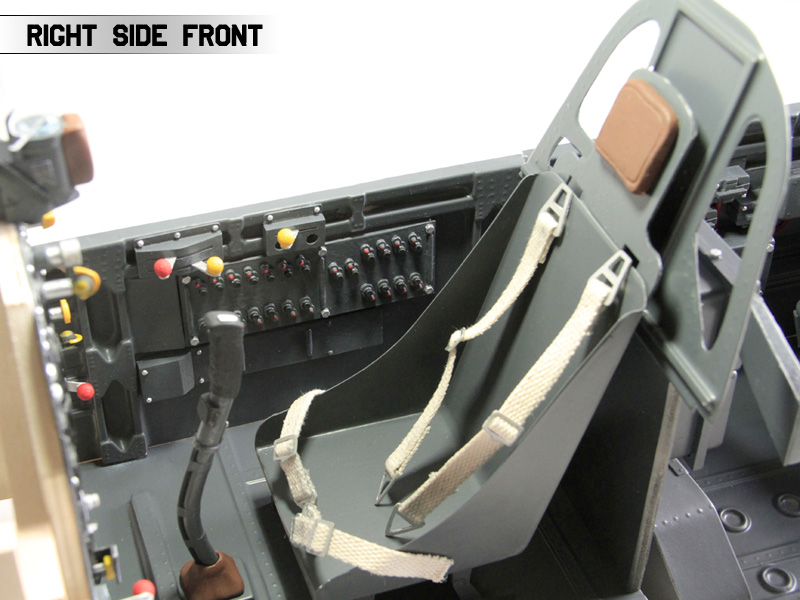warbird cockpit kit - new edition - with detailed panels