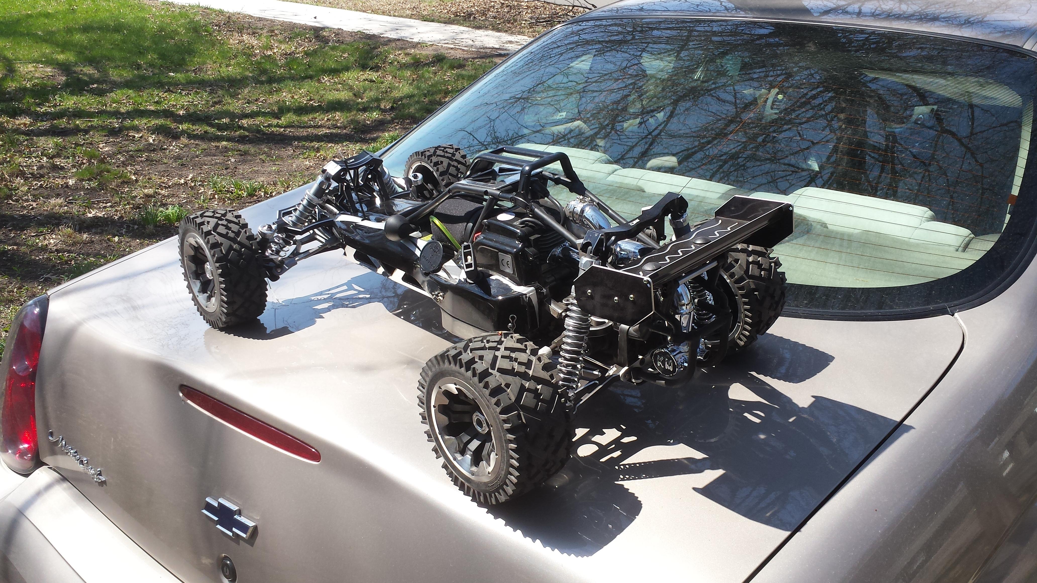 King Motor Quot Dark Knight Quot Baja Buggy Rcu Forums