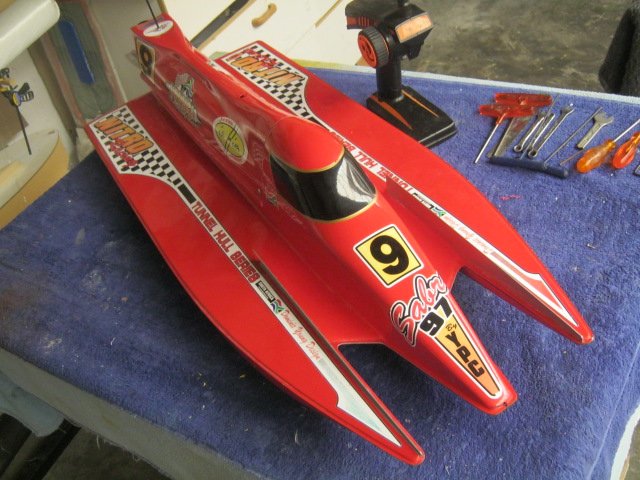 FE - F1 O/B Tunnel Hull by YPC ( Youngz Performance Craft