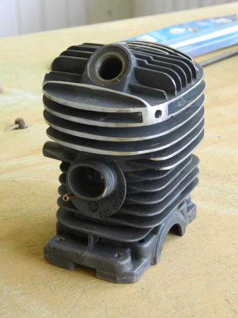 Poulan 46cc conversion - cylinder work - RCU Forums