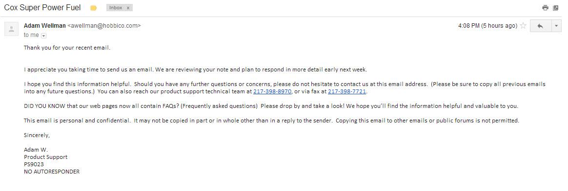 Click image for larger version  Name:Hobbico gmail Response - Adam Wellman.jpg Views:87 Size:117.0 KB ID:2024880