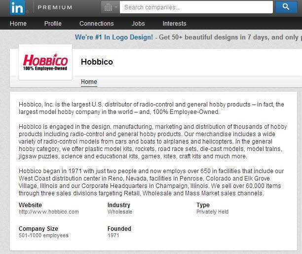 Click image for larger version  Name:Hobbico LinkedIn entry.jpg Views:121 Size:157.2 KB ID:2024881